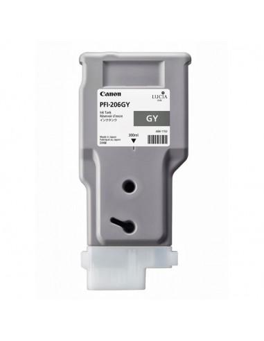 TINTA CANON PFI-206GY GRIS 300 ml