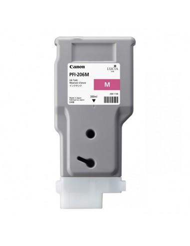 TINTA CANON PFI-206M MAGENTA 300 ml
