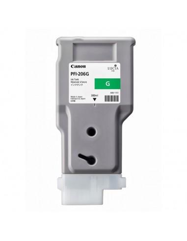 TINTA CANON PFI-206G VERDE 300 ml