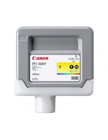 TINTA CANON PFI-306Y AMARILLO 330 ml.