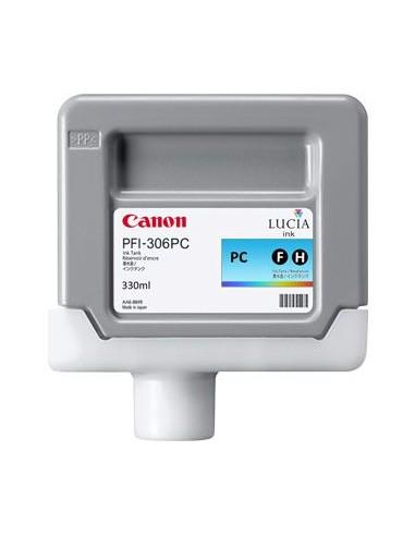 TINTA CANON PFI-306PC FOTO CYAN, 330 ml.
