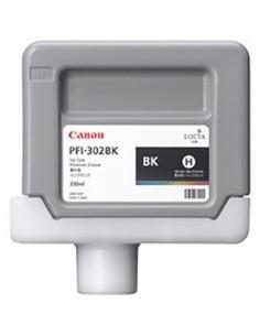 Tinta Canon PFI-302BK Negro Foto 330 ml.