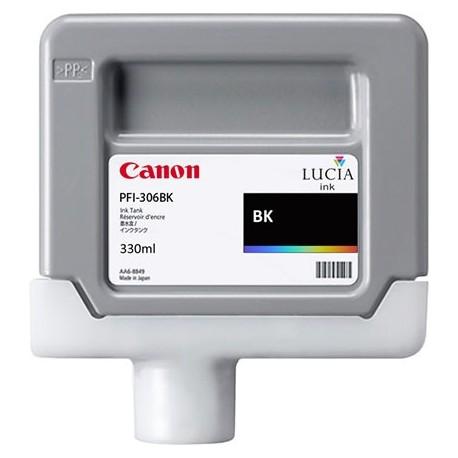 Tinta Canon PFI-306BK Negro Brillo 330 ml.