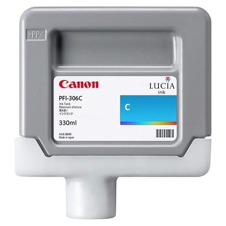Tinta Canon PFI-306C Cían 330 ml.