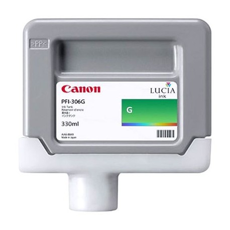 Tinta Canon PFI-306G Verde 330 ml.