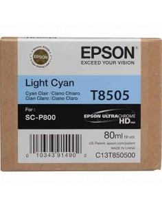 Tinta Epson Cían Claro T850500 - 80 ml.
