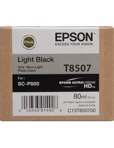 Tinta Epson Gris T850700 - 80 ml.