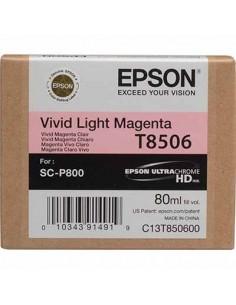 Tinta Epson Magenta Claro T850600 - 80 ml.