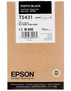 Tinta Epson T543100 Negro Foto 110 ml.