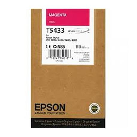 Tinta Epson T543300 Magenta 110 ml.
