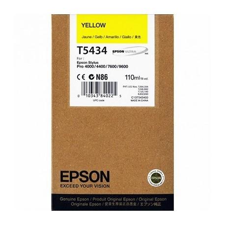 Tinta Epson T543400 Amarillo 110 ml.