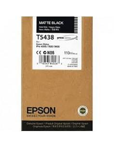 Tinta Epson T543800 Negro mate 110 ml.