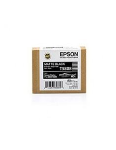 Tinta Epson T580800 Negro Mate - 80 ml.