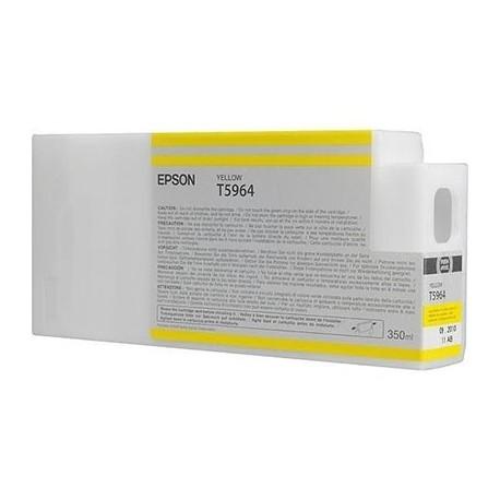 Tinta Epson T596400 Amarillo 350 ml.
