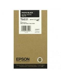 Tinta Epson T603100 Negro Foto 220 ml.
