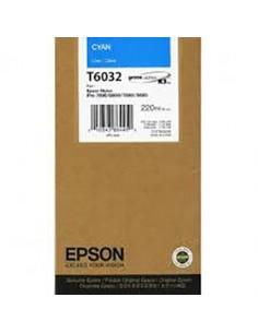 Tinta Epson T603200 Cían 220 ml.