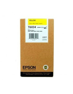 Tinta Epson T603400 Amarillo 220 ml.