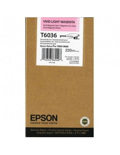 Tinta Epson T603600 Magenta claro 220 ml.