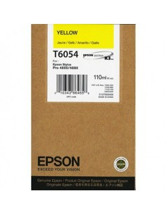 Tinta Epson T605400 Amarillo 110 ml.