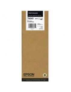 Tinta Epson T606100 Negro Foto 220 ml.