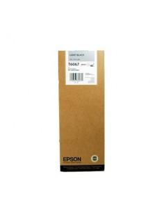 Tinta Epson T606700 Gris 220 ml.