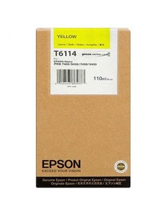 Tinta Epson T611400 Amarillo 110 ml.