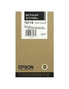 Tinta Epson T611800 Negro Mate 110 ml.