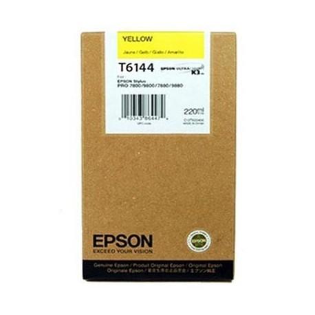 Tinta Epson T614400 Amarillo 220 ml.