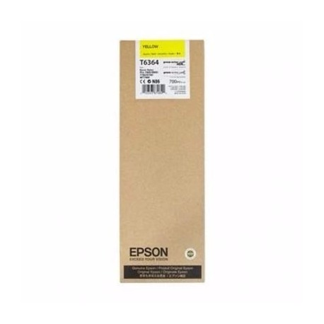Tinta Epson T636400 Amarillo 700 ml.