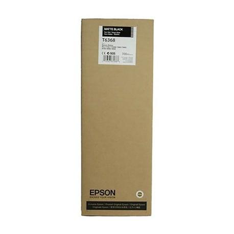 Tinta Epson T636800 Negro mate 700 ml.