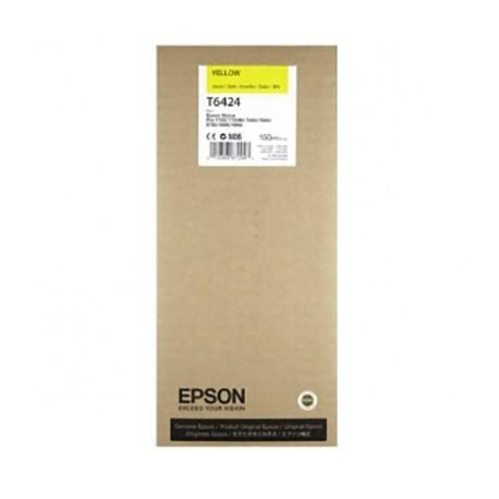 Tinta Epson T6424 Amarillo 150 ml.