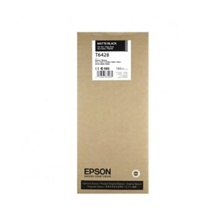 Tinta Epson T6428 Negro Mate 150 ml.