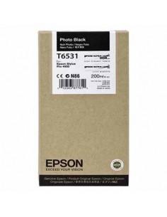 Tinta Epson T653100 Negro Foto 200 ml.