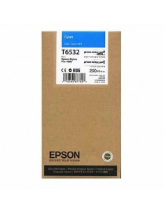Tinta Epson T653200 Cían 200 ml.