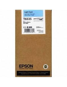 Tinta Epson T653500 Cían claro 200 ml.