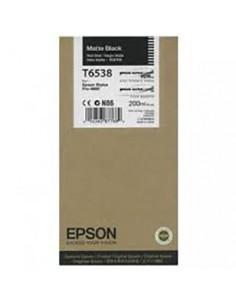 Tinta Epson T653800 Negro Mate 200 ml.