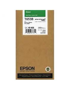 Tinta Epson T653B00 Verde 200 ml.