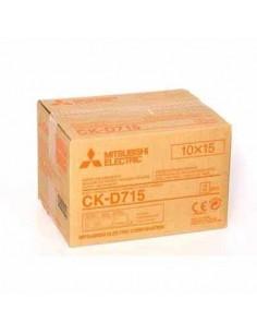 ROLLO PAPEL MITSUBISHI 10 X 15 (2 ROLLOS) (D70DW-S / D707DW-S)