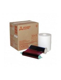 ROLLO PAPEL MITSUBISHI 10 x 15cm (1 ROLLO) (CP9810DW-S/CP9550DW-S/CP9600DW-S/CP9820DW-S)