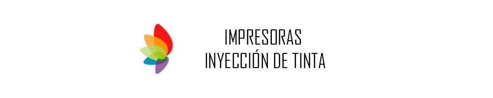 IMPRESORAS INYECCIÓN DE TINTA